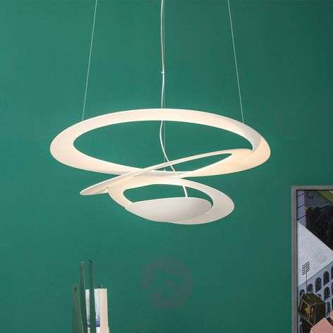 Pirce Micro LED designer pendant light, white