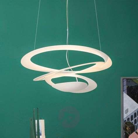 Pirce Micro LED designer pendant light, white