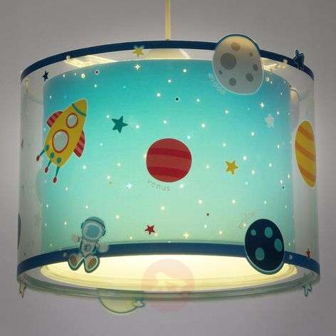 Planets childrens pendant light with motif-2507369-31