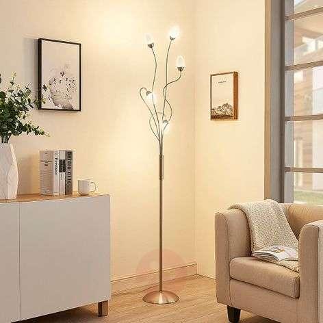 Playful-looking LED floor lamp Deyan