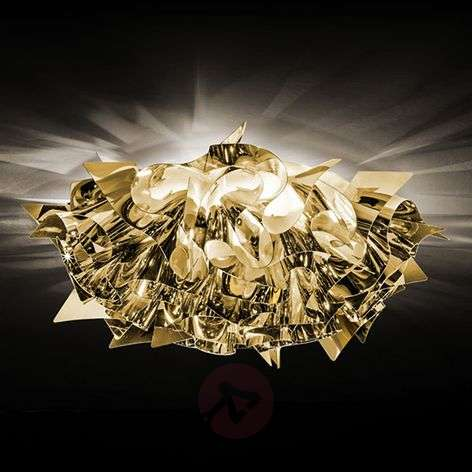 Playful Veli Mini ceiling light, gold