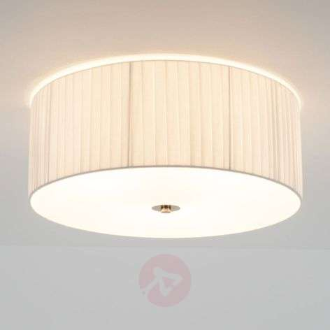Plissé ceiling light Melda with acrylic diffuser
