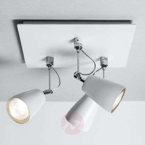 Polar Ceiling Spotlight Square-Shaped Three Bulbs-1020263-32