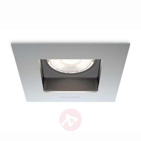 Porrima - LED recessed light with an angular shape