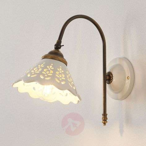 Portico - wall light with a curved arm
