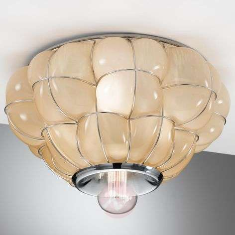 Pouff - handmade ceiling light from Italy