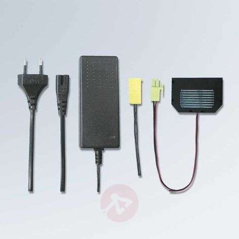 Power supply for LED lights with Euro plug