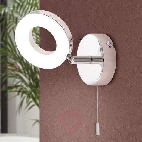 Practical Gonaro LED wall lamp, pull cord-3031851-31