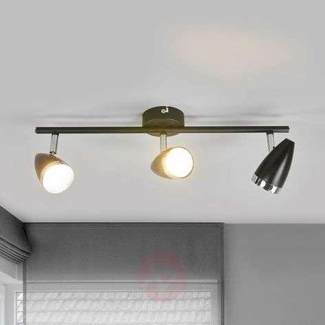 Practical retro ceiling spotlight Ron, LED