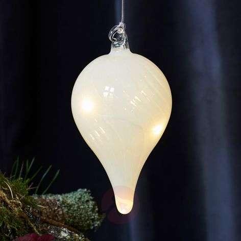 Pretty decorative pendant Heaven glass 10cm