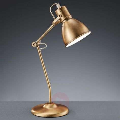 Pretty Keali table lamp, antique brass-9004960-31