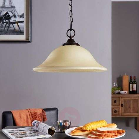 Pretty pendant light Svera, country house style