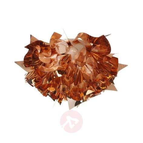 Pretty Veli ceiling light in copper, 53 cm
