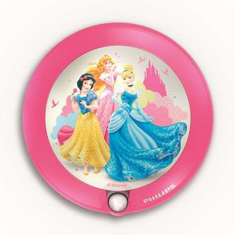 Princess LED Night Light with a Motion Detector