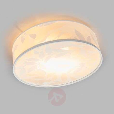 Printed fabric ceiling lamp Soft, 44.3cm