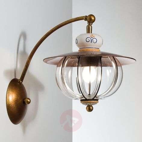 Projecting Lampara wall lamp - handmade