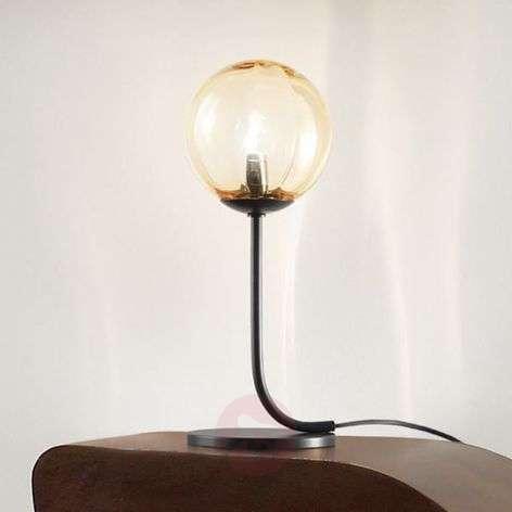 Puppet designer table lamp made of Murano glass