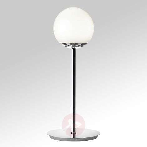 Puppi LED table lamp, spherical glass lampshade-8507634-31