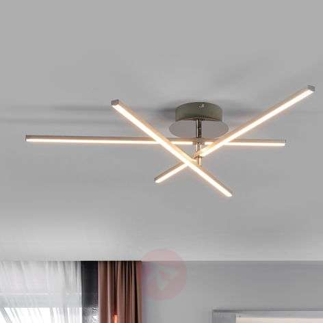Puristic LED ceiling light Leana