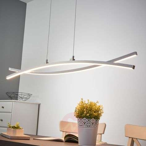 Puristic LED pendant light Florentina