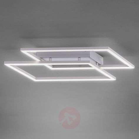 Quadra LED ceiling light, dimmable via switch
