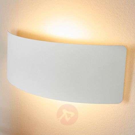 Rafailia panel-shaped LED wall lamp in white