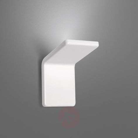 Rea 10 designer LED wall light, white