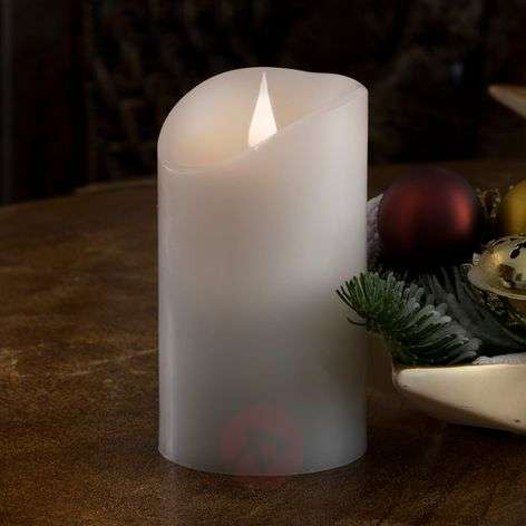 Realistic, real wax LED candle, 3D flame