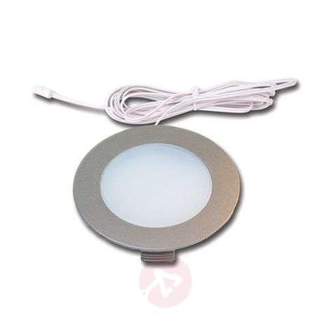 Recessed light FR 78 LED, set of three, warm white