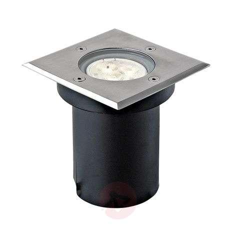 Rectangular LED installed ground light Ava, IP67