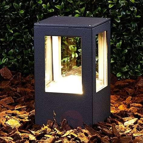 Rectangular Nicola LED pillar light, IP54-9618008-31