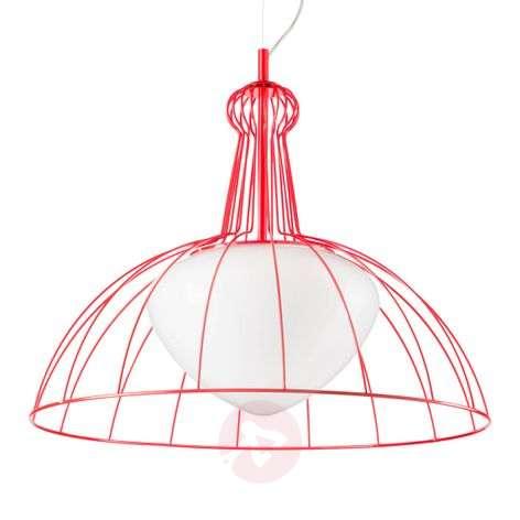 Red Lab designer pendant lamp - made in Italy