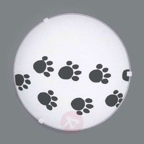 Refined ceiling lamp Pawprints