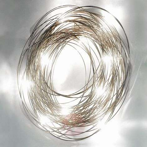 Refined wall light Confusione, 50 cm