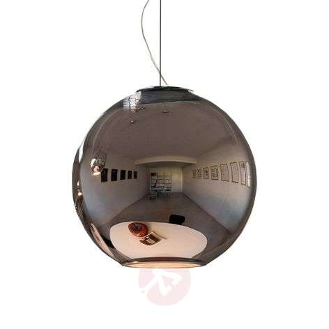 Reflective hanging light GLOBO DI LUCE 30 cm