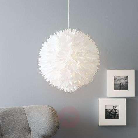 Refreshing Flower hanging light, white