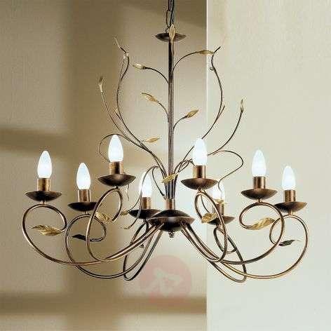Regine Florentine Chandelier Eight Bulbs