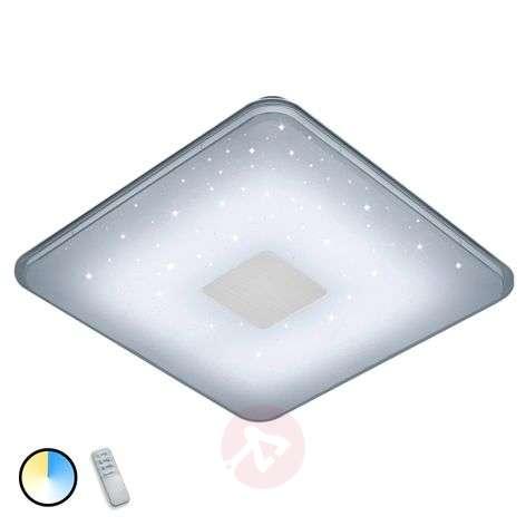 Remote-control angular LED ceiling light Samurai