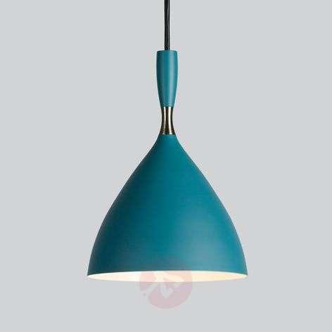 Retro designer light Dokka in blue-green