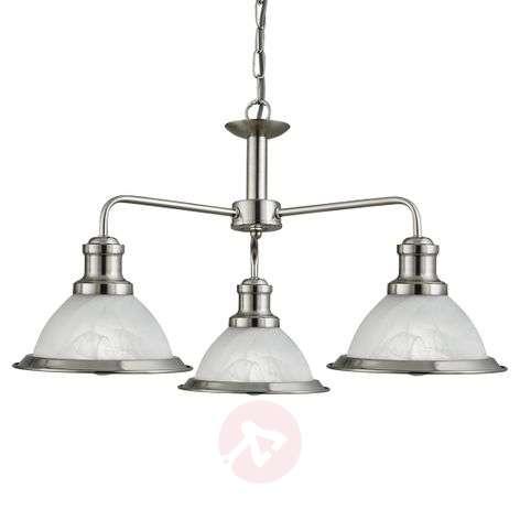 Retro-style 3-bulb Bistro hanging light-8570914-31