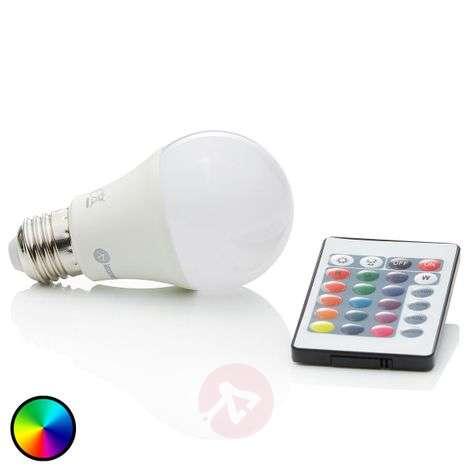 RGBW LED bulb E27 7W, 500lm