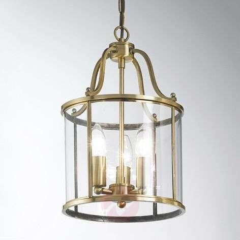 Rieka Hanging Light Lantern-Shaped Round 25 cm