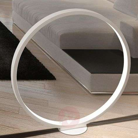 Ring-shaped LED floor lamp Assolo, 70 cm