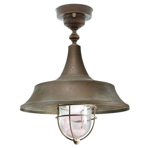 Robust ceiling light Diego for outdoor use