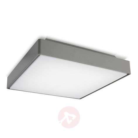 Robust LED ceiling light Kössel for outdoors