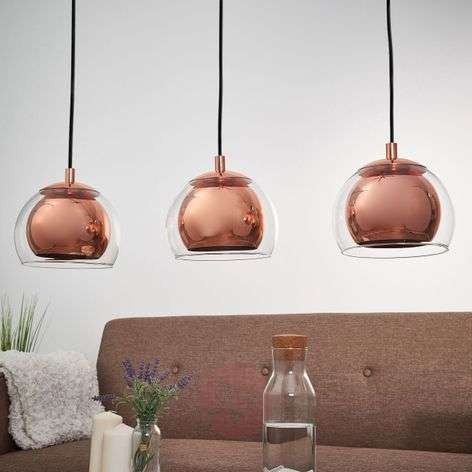 Rocamar - a three-bulb pendant light