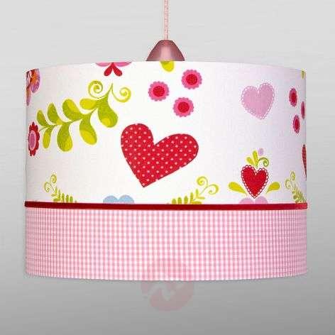 Kids pendant lighting lights romantic heart childrens pendant light mozeypictures Choice Image