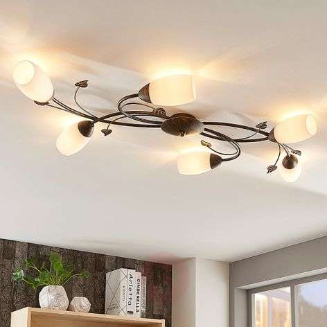Romantic LED ceiling light Stefania