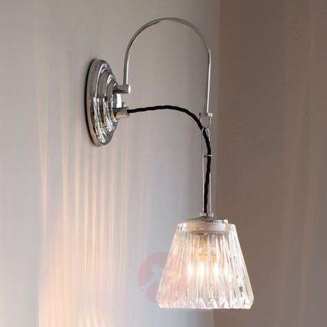 Romantic-looking LED wall light Demelza