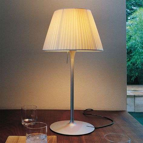 ROMEO SOFT T1 - Table Lamp with Pleated Shade